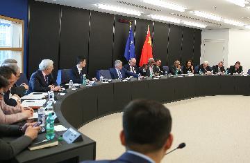 """欧洲议会成立""""`一带一路`政策沟通委员会"""""""