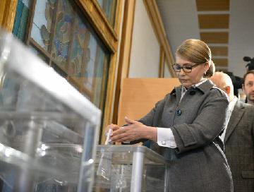 综述:乌克兰总统选举平稳进行 或通过次轮投票决出胜者