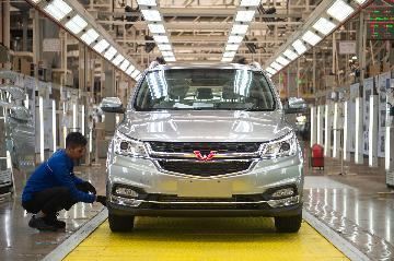 SAIC Motor reports flagging sales in first four months