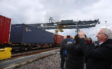 Chinas Chengdu sees 6,000 trips by China-Europe freight trains