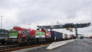 China-Europe freight train service expanding under Belt and Road Initiative