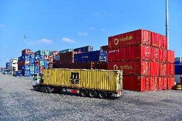 China-Europe freight train cargo value increases rapidly in Guangzhou