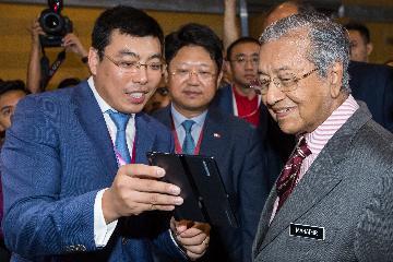 中國企業亮相馬來西亞5G技術展