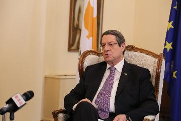 Interview: Cypriot president says Cyprus to benefit from BRI