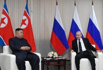 "Putin, Kim hold ""fruitful"" talks on Korean Peninsula nuclear issue"