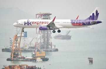 香港国际机场前5月客运量同比上升2.6%