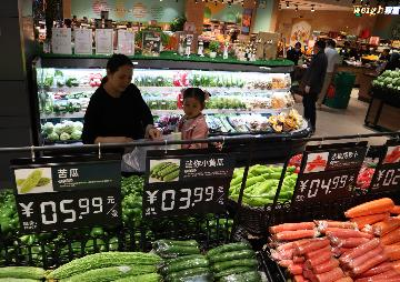 Chinas weekly farm produce prices continue to rise