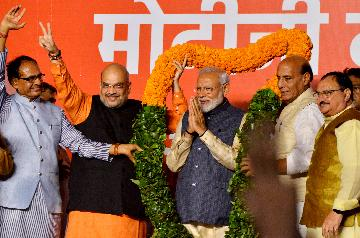 Modi-led BJP wins Indian elections: Election Commission