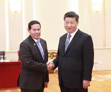 巴西副总统莫朗:巴中合作成果丰硕 潜力巨大