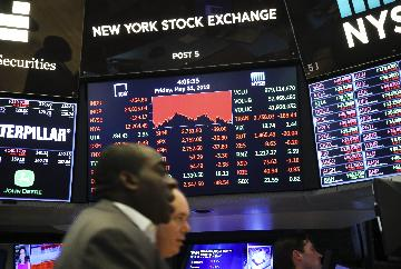 U.S. tariff moves sink U.S. equities in May