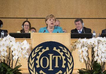 德國總理默克爾說多邊主義面臨危機
