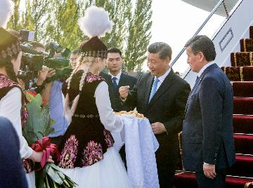 China, Kyrgyzstan agree to enhance ties to new heights