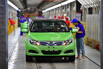 China reports falling auto exports in Jan-May