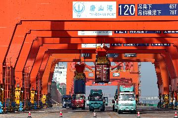 China sees bustling container business as ports get automated