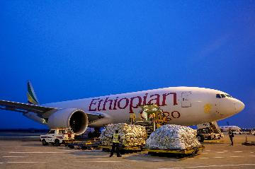 First direct cargo flight links Chongqing, Africa