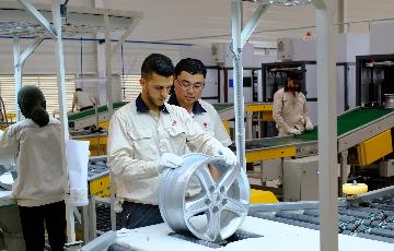 Chinese auto part manufacturer inaugurates first factory in Morocco