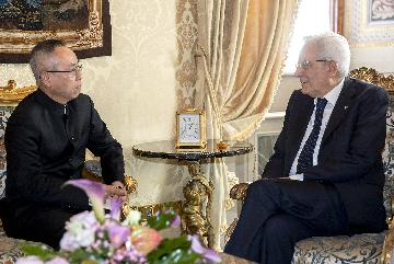 Italian president expects strengthened Italy-China cooperation on BRI