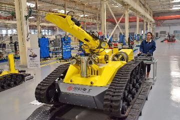 Chinas industrial structure optimized in past seven decades