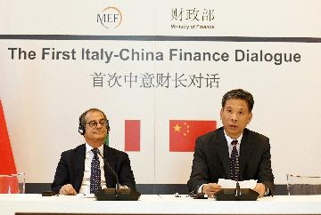 China, Italy agree to enhance financial market cooperation, opening-up