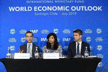 IMF下調今明兩年世界經濟增長預期