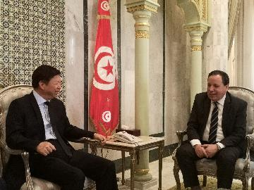 China, Tunisia eye further cooperation under BRI