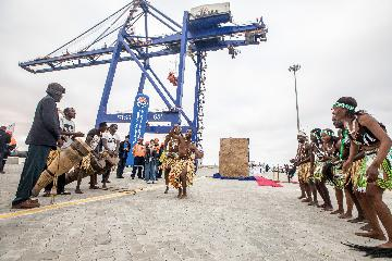 Chinese-built container terminal makes Namibia preferred logistics hub