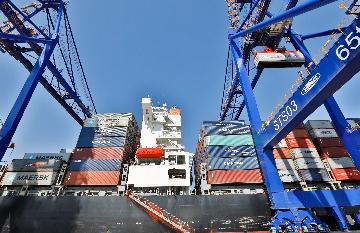通讯:为大西洋沿岸增添一颗耀眼明珠--记纳米比亚沃尔维斯湾港新集装箱码头竣工