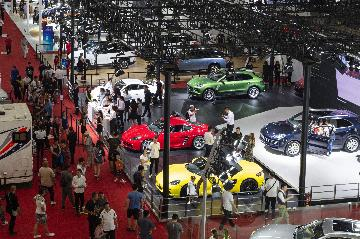 Chinas car sales fall in July
