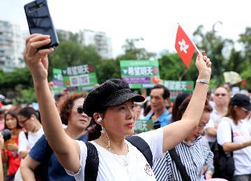 香港特區政府發言人:示威活動已遠超和平理性 絕不縱容違法行為