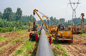China-Central Asia gas pipeline transports 47.9 bln cubic meters in 2019