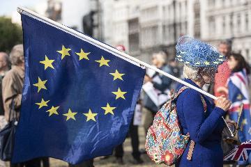 """英國議會下院阻止""""無協議脫歐"""" 詹森提前大選動議被否"""