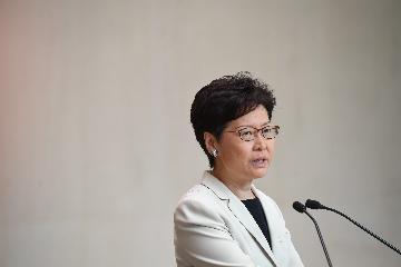 林鄭月娥:香港將繼續為兒童健康成長創造最好的環境