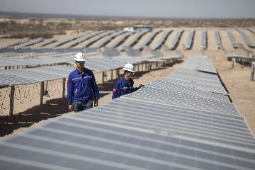 Chinese-built solar park to power 160,000 Argentine homes