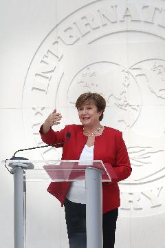 Bulgarias Georgieva approved as new IMF managing director