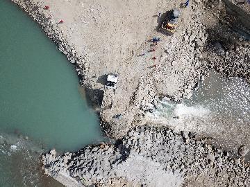 通訊:大壩成功截流--中企建設巴基斯坦蘇吉吉納裡水電站取得階段性成果