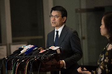香港特區政府商經局局長邱騰華:香港國安法可增投資者信心