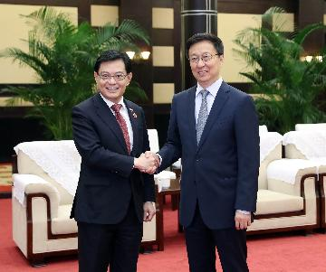 China, Singapore agree to enhance BRI, trade cooperation