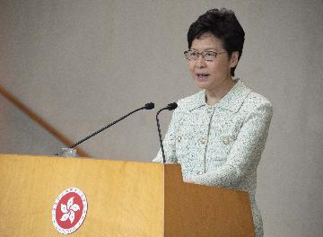 Carrie Lam highlights livelihood issues in policy address