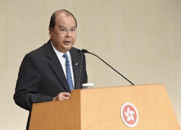 张建宗:改善民生大前提是香港恢复平静