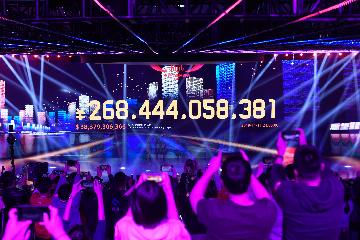 Chinas Singles Day sales hit 38.3 bln USD