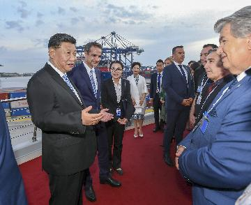 Greeks say Xis visit further invigorates China-Greece ties