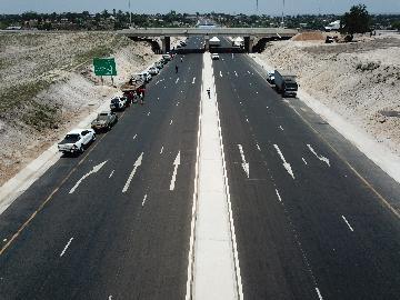 中企承建莫三比克N6公路改擴建項目竣工通車