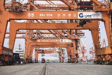 Chinas foreign trade expands 2.4 pct in first 11 months