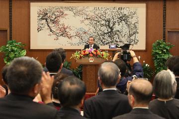 王毅出席中日人文交流招待会并致辞