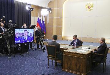 普京:东线管道通气将俄中能源战略协作提至全新水平