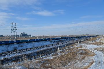Manzhouli port sees rising China-Europe freight trains in Q1