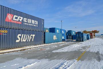 Chinas railways see steady cargo growth