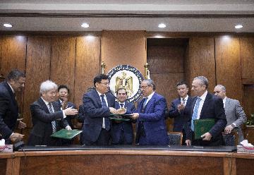 中埃企業簽署大型磷化工專案承包合同
