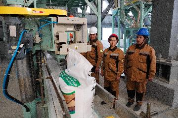 中企承建的乌兹别克斯坦聚氯乙烯项目投产