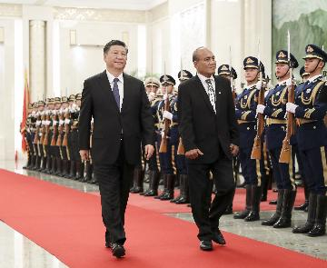 Kiribati on right side of history by resuming diplomatic ties with China:Xi